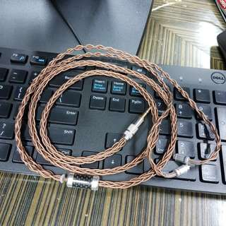 24 AWG 8 BRAIDED COPPER LITZ CABLE