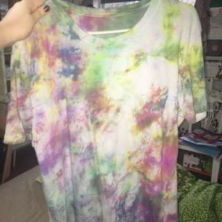 New xl tie dye shirt