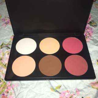 Authentic BH Cosmetics Contour & Blush Palette