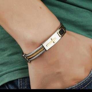 Keep the faith bracelet