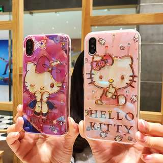 Hello Kitty iphone 6/6p/7/7p8/8p/X phone case