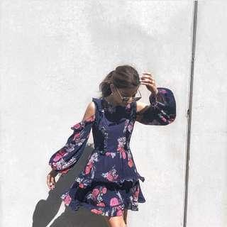 Steele Botanica Dress Size S