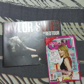 Taylor Swift Red Tour Book
