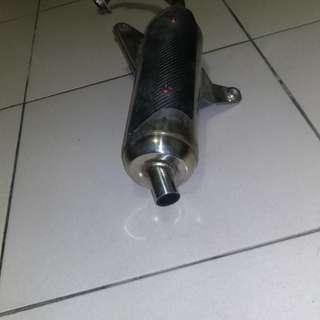 勁戰排氣管