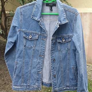 Authentic Forever 21 Denim Jacket