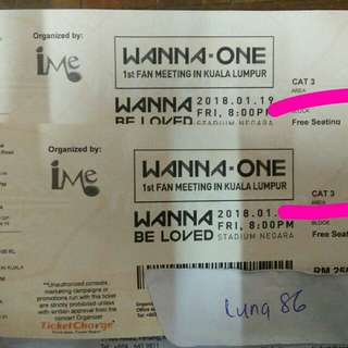 WANNA ONE IN KL