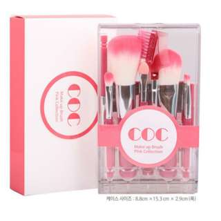 COC Take-out Brush Kit Pink Collection