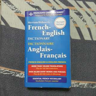 Merriam-Webster French-English Dictionary