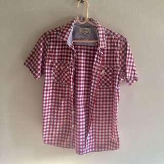 Kids Checkered Shirt