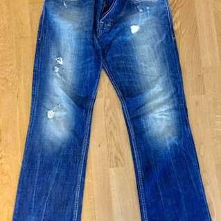 Diesel Jeans (33/32) Zatiny