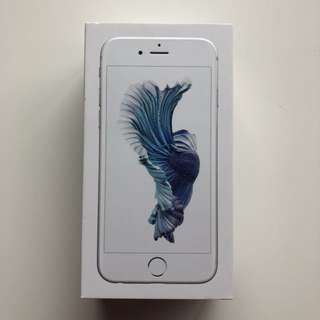 Apple iPhone 6s White/Silver