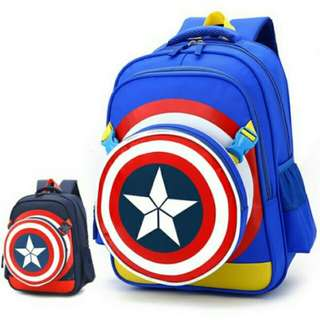 (free 🎁📫) Captain America Backpack