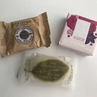 NEW- L'Occitane Soap Bundle