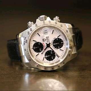 Tudor Tiger Chronograph 79280 Cream White Rare