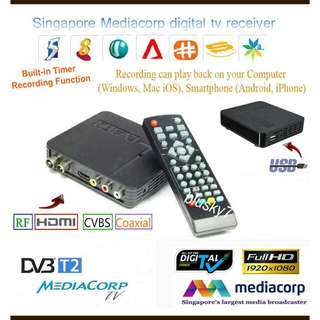 Digital TV box DVB-T2 with Recording Function + Antenna