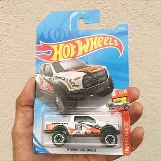 Hotwheels Ford F-150 Raptor
