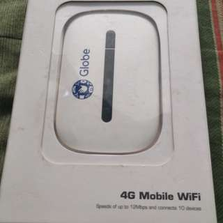 Globe pocket wifi 4g