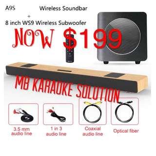 Karaoke soundbar