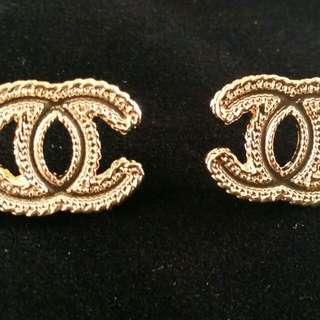 New Chanel CC Stud earrings