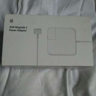 45W MagSafe 2 power adaptor apple