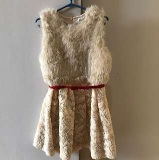 Perfect for Christmas Dress(belt not included)
