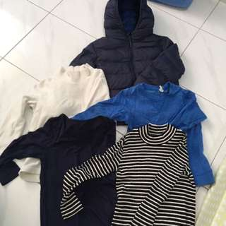 Winter clothes for 5 years old