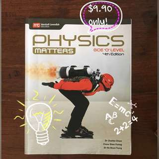 Physics Matters Textbook: GCE 'O' Level 4th Edition