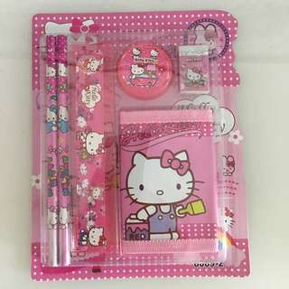 Hello kitty wallet and stationary set for kids Party Goodies bag