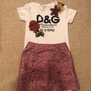 DG short shirt