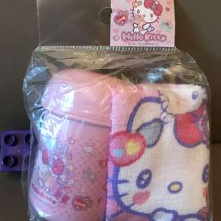 Sanrio Hello Kitty 毛巾套裝