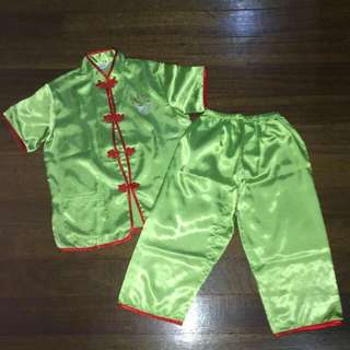 Blue or Green Chinese Costumes