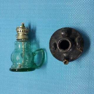 油燈 油壺 古 舊   W-39