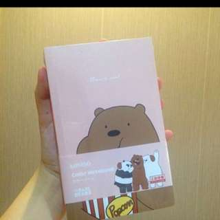 CHRISTMAS SALE We Bare Bears Notebook
