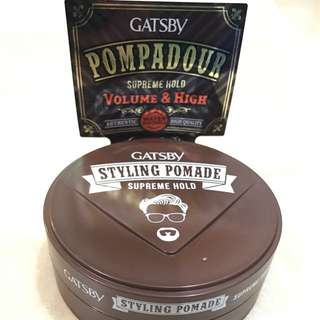 Latest Gatsby Styling Pomade - Volume and High Pompadour