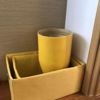 Yellow items