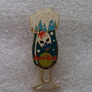 Hard Rock Cafe Pins ~ SKYDOME TORONTO HOT 2002 HURRICANE GLASS SERIES PIN!