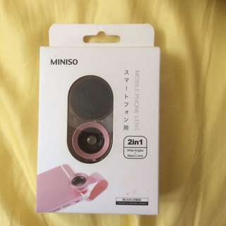 Miniso 2 in 1 wide angles + macro lens