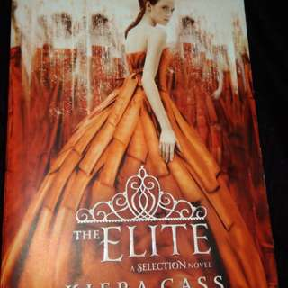 The Elite a Selection Sequel by Kiera Cass