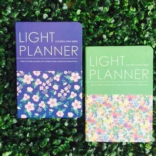 Light Planner Floral (Onhand)