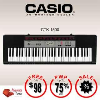 CASIO Standard Keyboard: CTK-1500