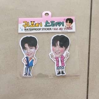 Wanna One Bae Jin Young Waterproof Sticker