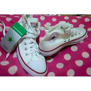 REPRICED Brand New Class A HighCut Converse for Women size 7 (37)