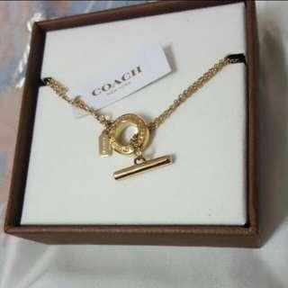 Coach woman bracelet (Gold)