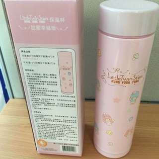 Little Twin Stars LTS 鴻福堂 保溫杯 - Pink