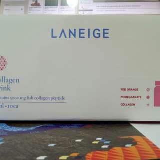 Laneige Collagen Drink with freebie