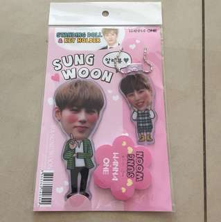 Wanna One Ha Sung Woon Standing Doll & Key Holder