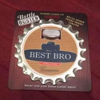Brand New Personalised 3 in 1 Bottle Opener BEST BRO