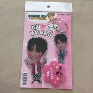 Wanna One Bae Jin Young Standing Doll & Key Holder (unofficial)