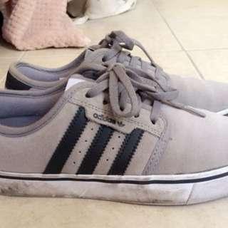 Adidas grey sneakers Us 4,5 uk 5 eur 37.5