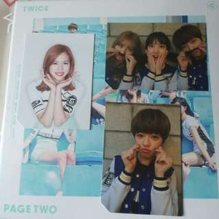 Twice Page Two Photocard